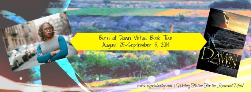 Born at Dawn Virtual Book Tour Banner