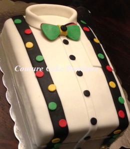 Lil Man Bronx Fondant Cake