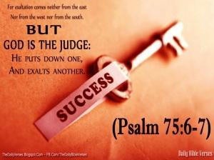 Psalm 75.6-7